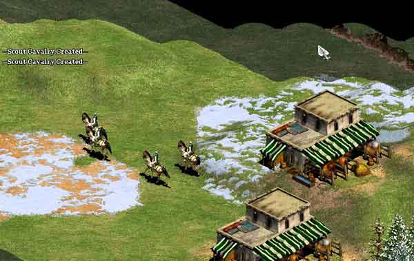 The Saracen Scout Rush @ Age of Empires 2 Strategy Center